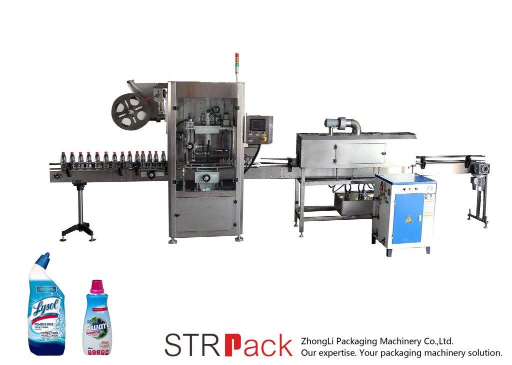 Automatisk märkningsmaskin för krympmuff