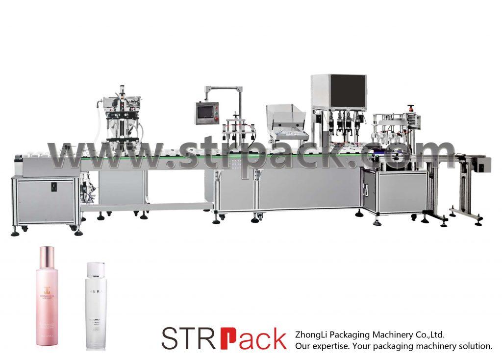 Automatisk påfyllningsmaskin för vattenemulsion