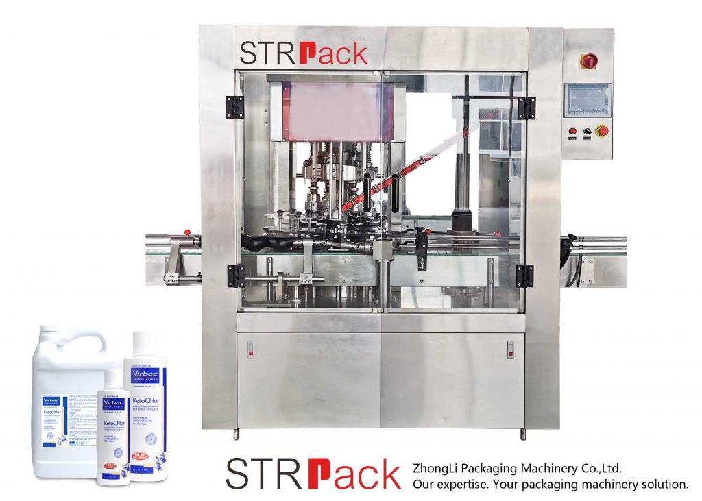 Automatisk 8 Head Rotary Capping Machine