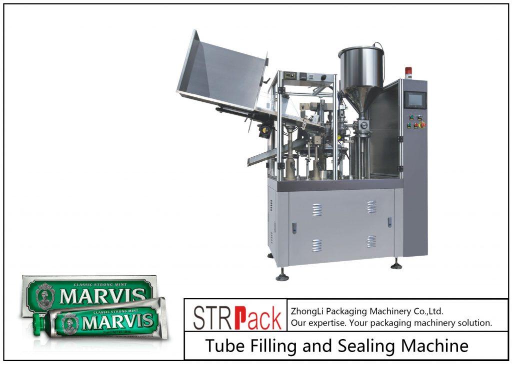 SFS-60 plaströr Fyllnings- och tätningsmaskin