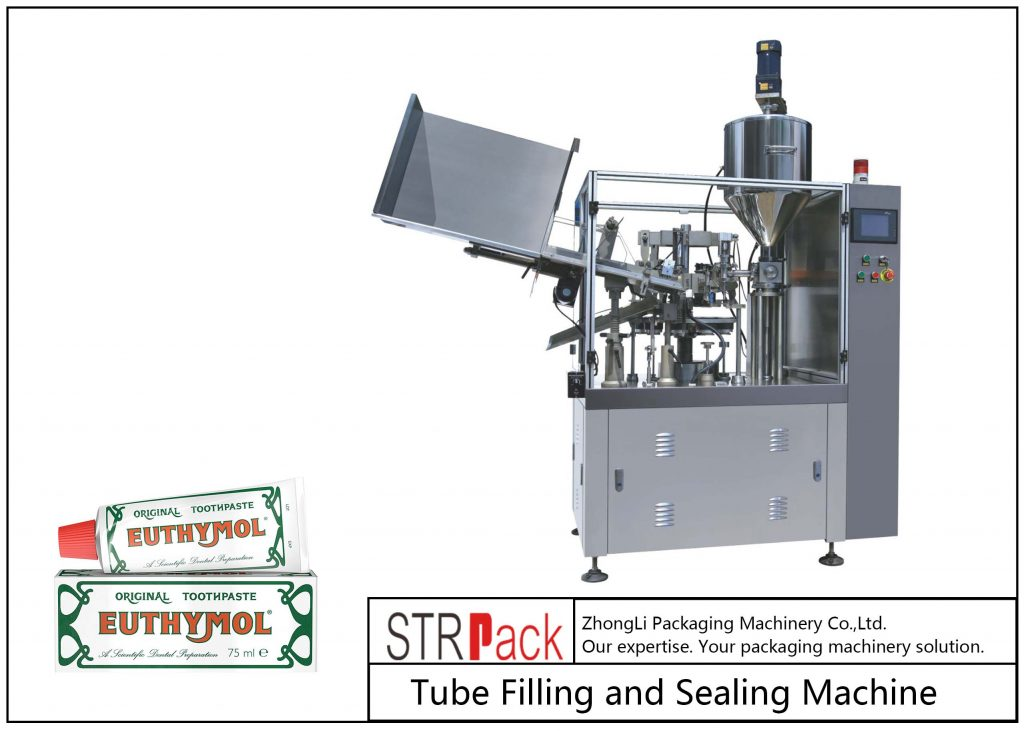 SFS-60Z Metal Tube Filling and Teals Machine