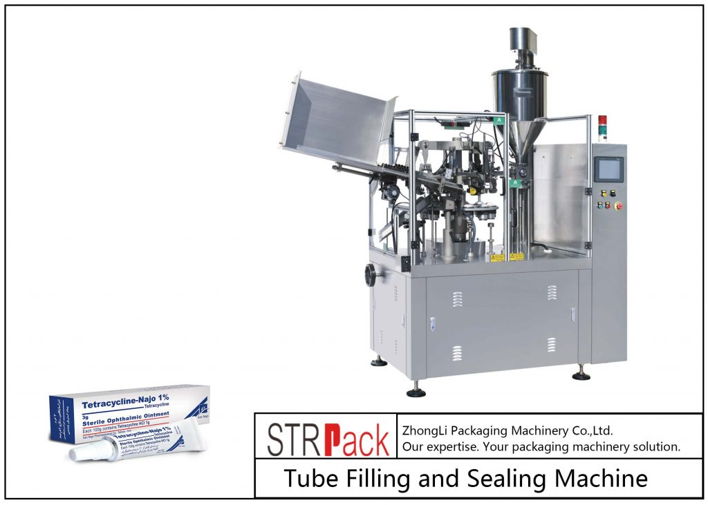 SFS-80Z Metal Tube Filling and Teals Machine