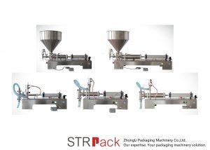 Halvautomatisk kolv Liquid Filling Machine
